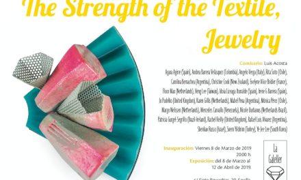 La fuerza del textil, exposición internacional en Europa con artistas argentinos.