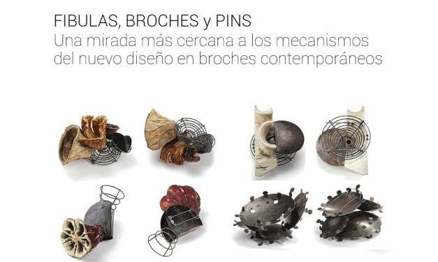 Workshop: Fibulas, broches y pins, a cargo de Daniela Malev (Alemania)
