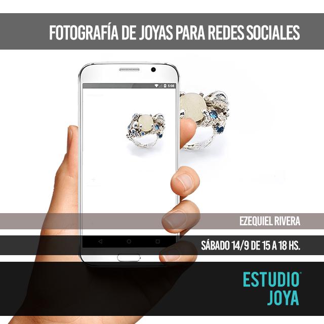 fotografía de joyas para redes sociales