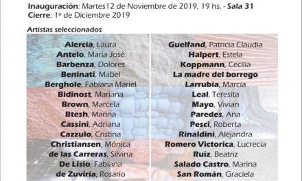 Gabriela Squassini, seleccionada para expo El Textil en el Borges