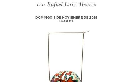 Exposición, charla y taller de Rafael Alvarez en Córdoba