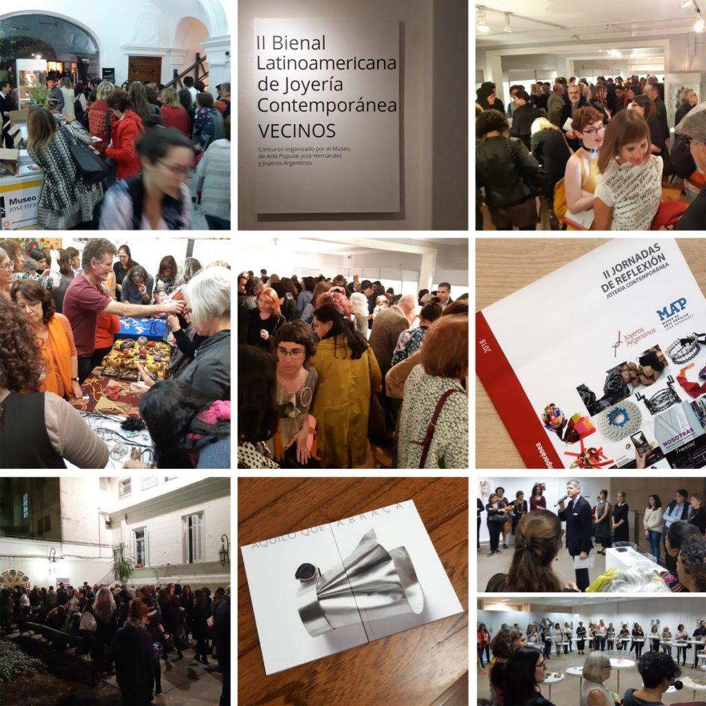 Imágenes de la II Bienal Latinoamericana de Joyería contemporánea