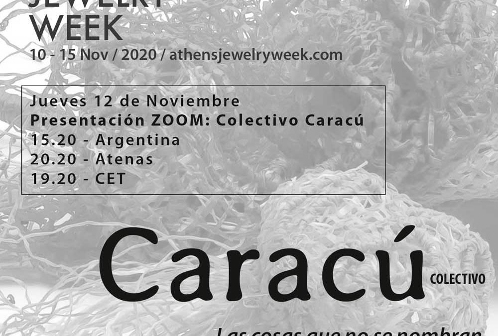 Caracú expone en la Athens Jewelry Week