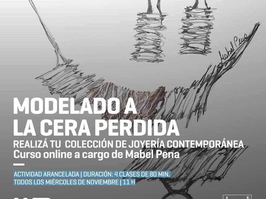 Realizá tu propia Colección de Joyería Contemporánea, a cargo de Mabel Pena