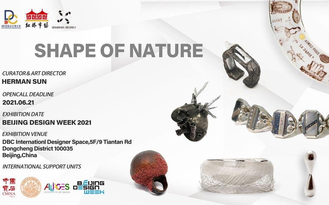 La forma de la naturaleza, convocatoria a exposición en Beijing