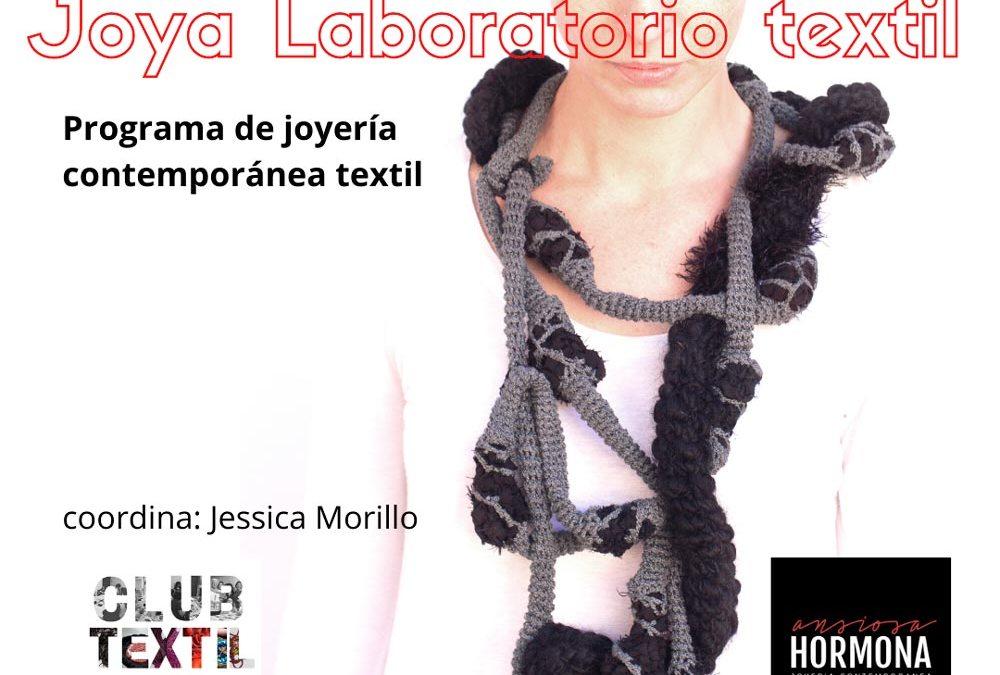 Programa de joyería textil, a cargo de Jessica Morillo