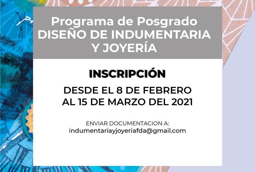 Posgrado de Joyería en la Universidad Nacional de La Plata