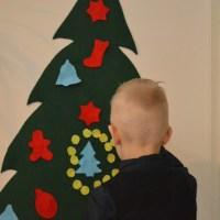 Doe het zelf: Een kerstboom van vilt