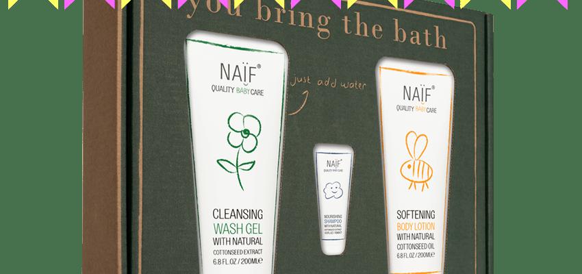 Winweek: Naïf Bubbles Gift set
