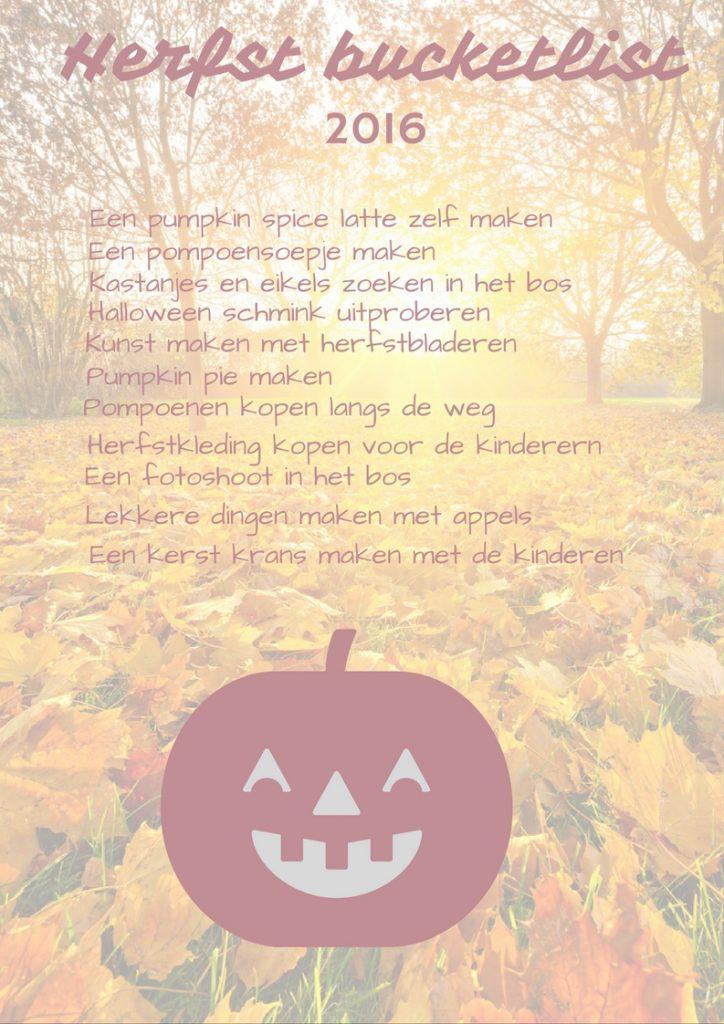 herfst-bucketlist
