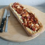 Recept | Gevuld brood BBQ chicken style