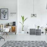 Een vloerkleed maakt je woonkamer af