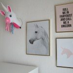 Rainbow Unicorn room make-over part 1