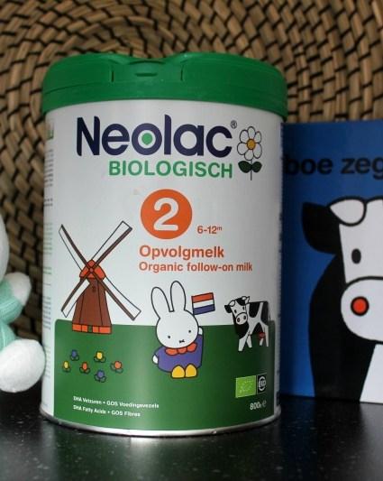 Biologische babyvoeding van Neolac
