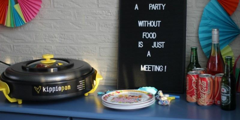 Het feest kan beginnen, want de Kippie pan is binnen!