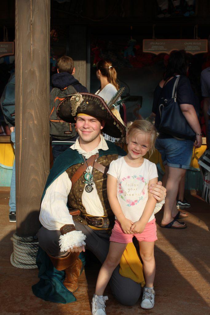 sofie met piraat