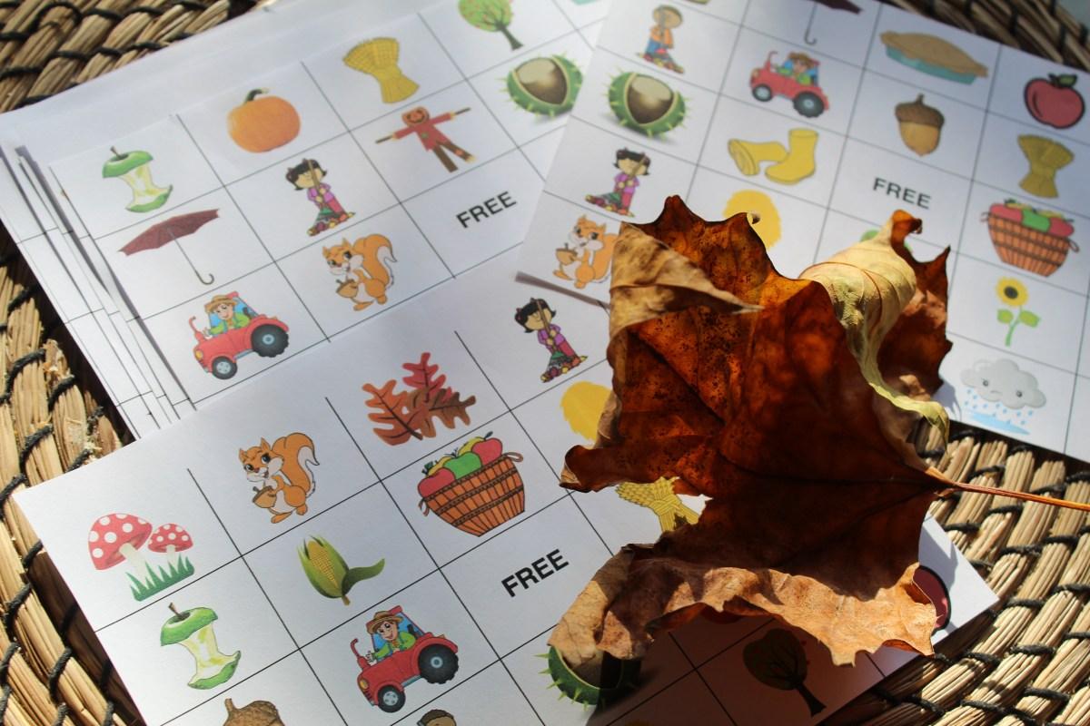 herfst bingo