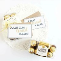 Juf is goud waard! || GRATIS PRINTABLE!