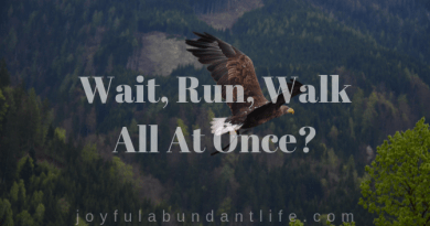 Wait Walk Run - all at once?