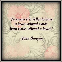 Prayer by John Bunyan