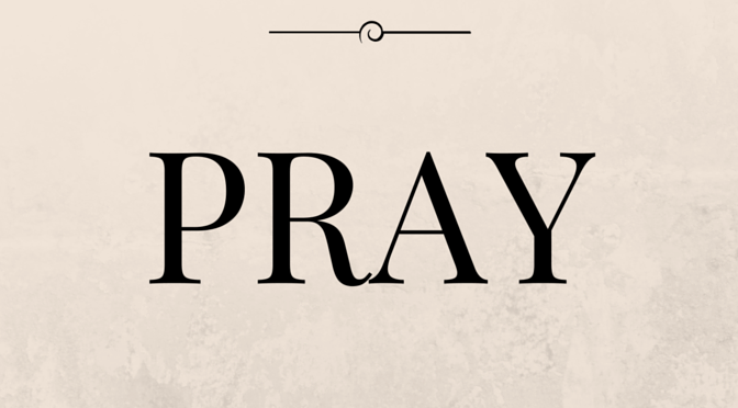 Prayer Prompts for Saturday and Sunday