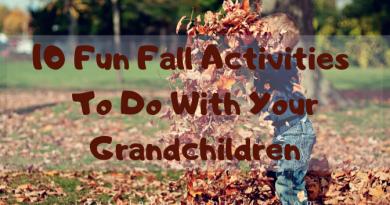 10 FunFall Break Activities To Do With Your Grandchildren