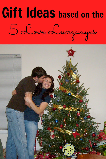 Gift Ideas based on the 5 Love Languages