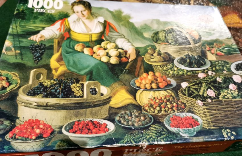 Jigsaw puzzle The Fruit Dealer