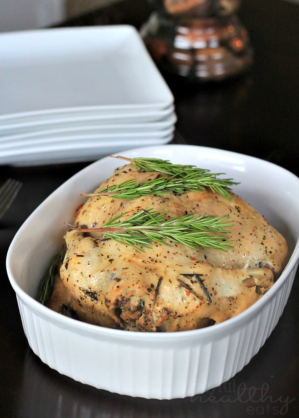 Garlic Herb Crock Pot Chicken