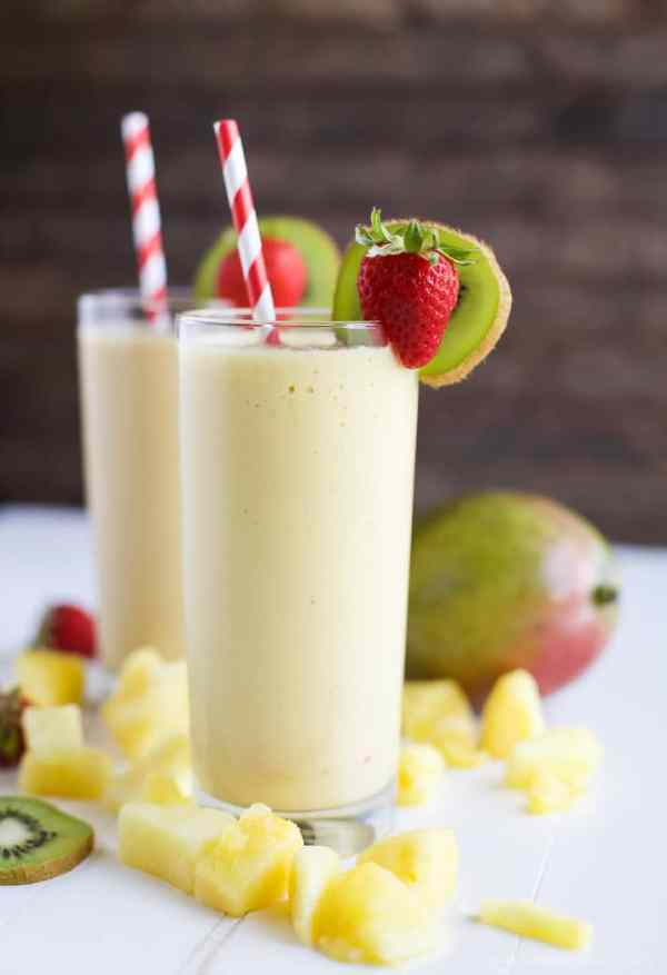 Tropical Mango Smoothie Easy Healthy Recipes Using Real