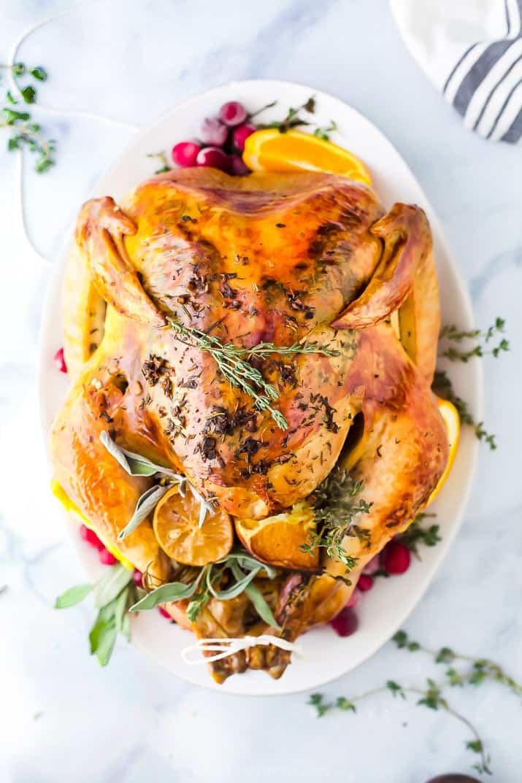 The Best Thanksgiving Turkey Recipe Easy Turkey Recipe