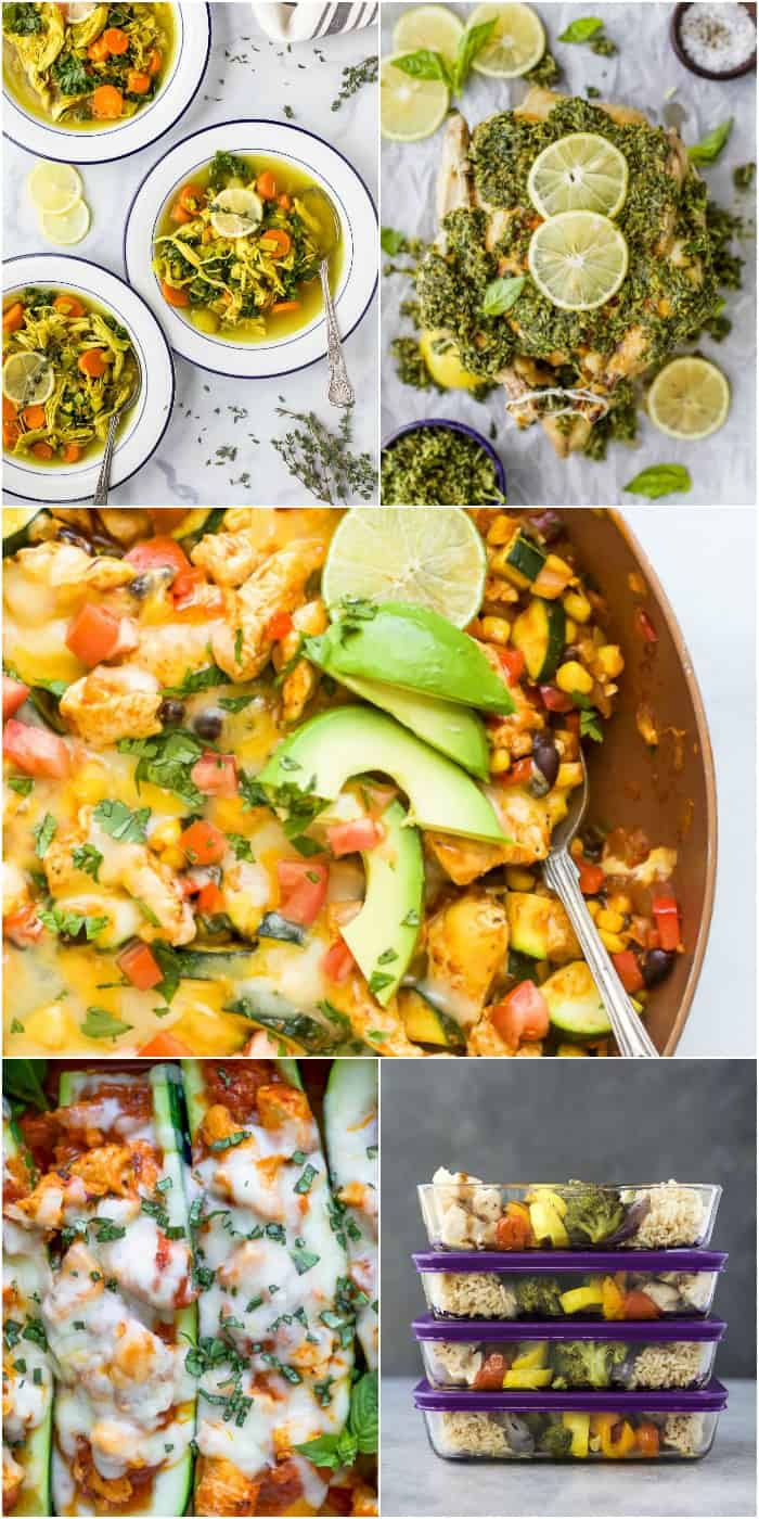 15 easy healthy meals to make with frozen chicken