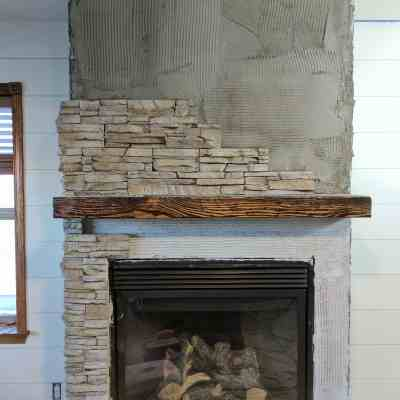 The Tale of an Ugly Fireplace - Makeover Edition