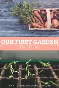 Our First Garden – The Plan