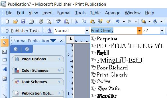 DIY Invites Using Microsoft Publisher