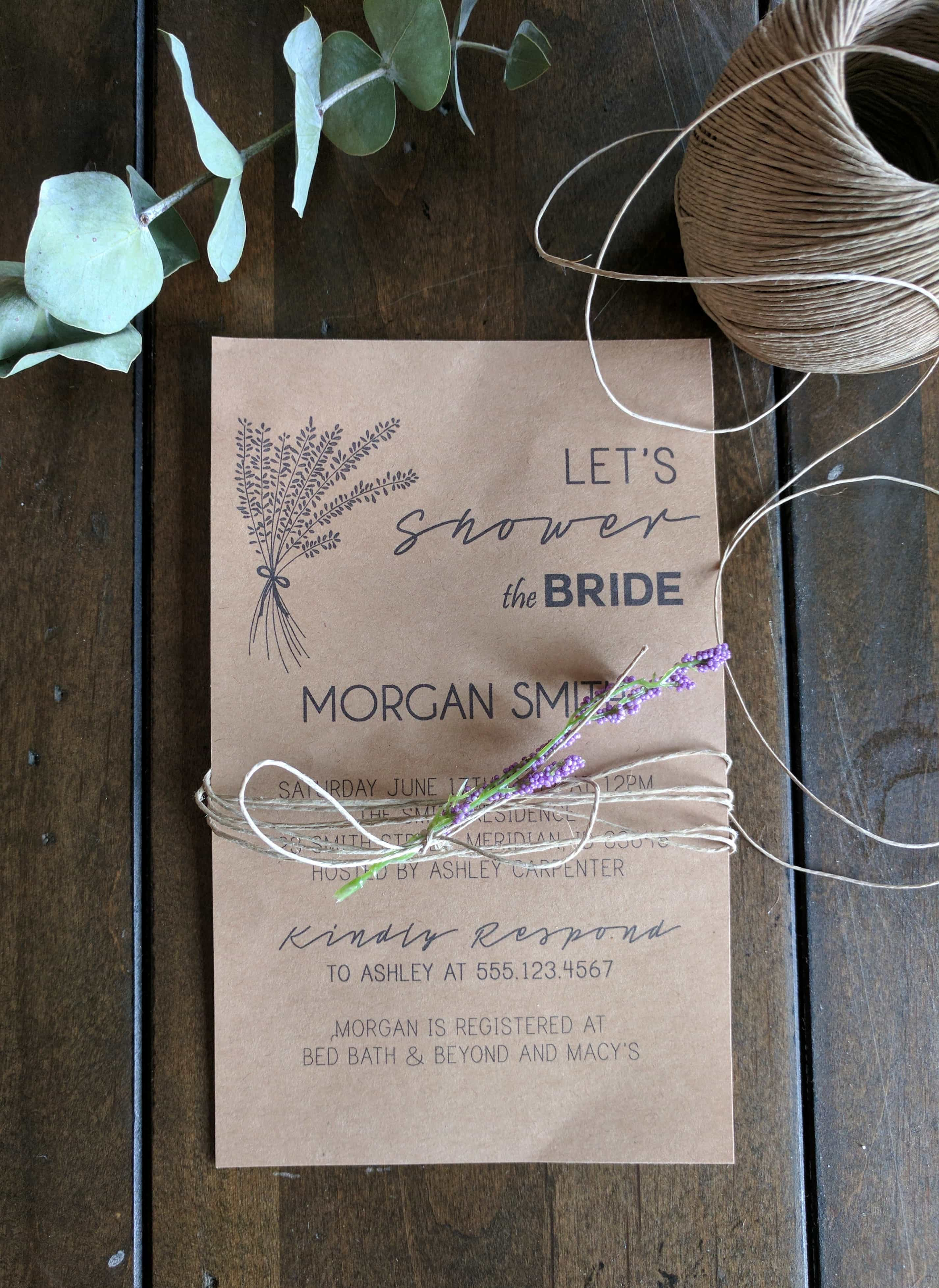 inviting for wedding words%0A DIY Invitations Using Microsoft Publisher