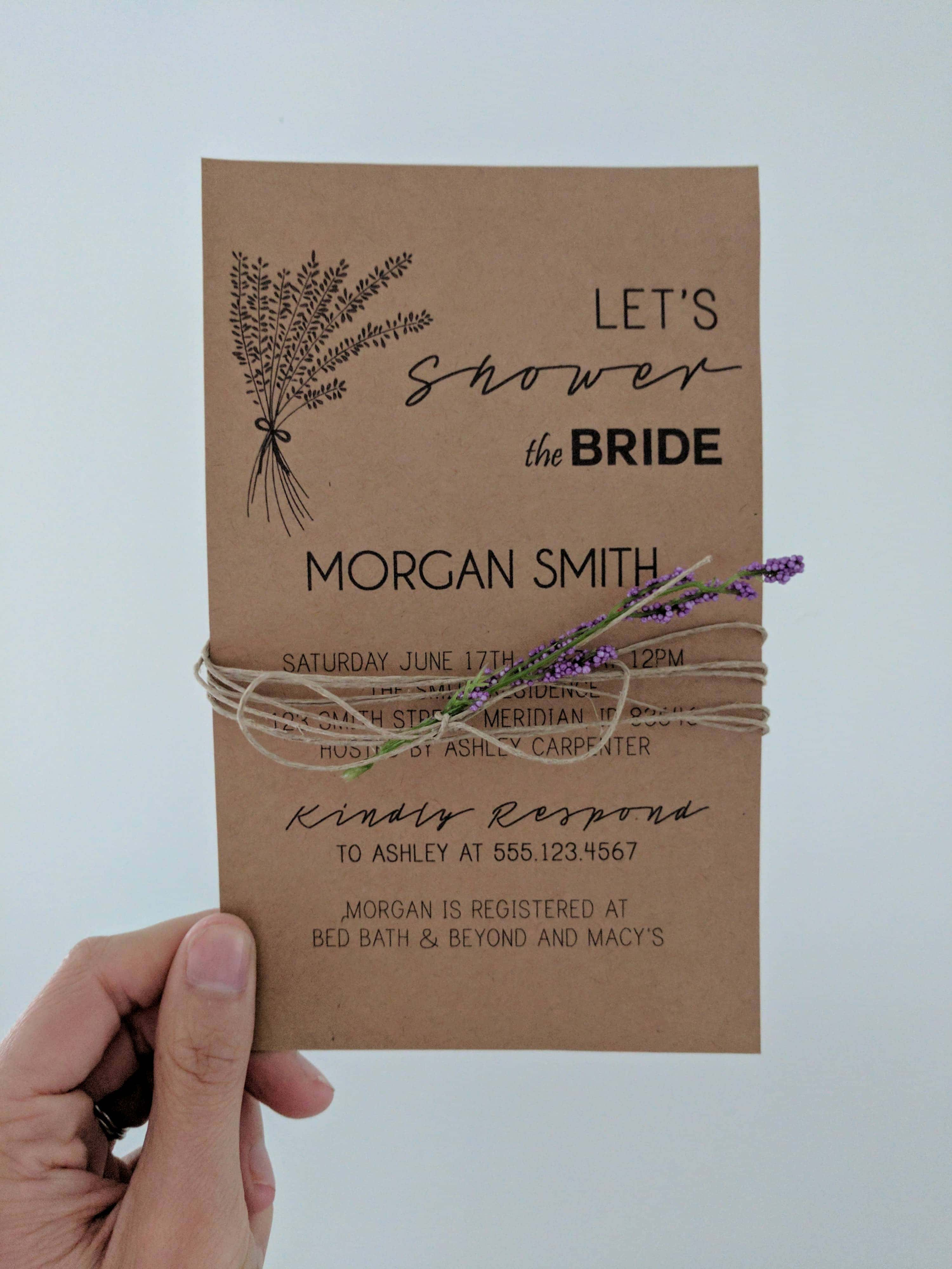 DIY Invitations Using Microsoft Publisher