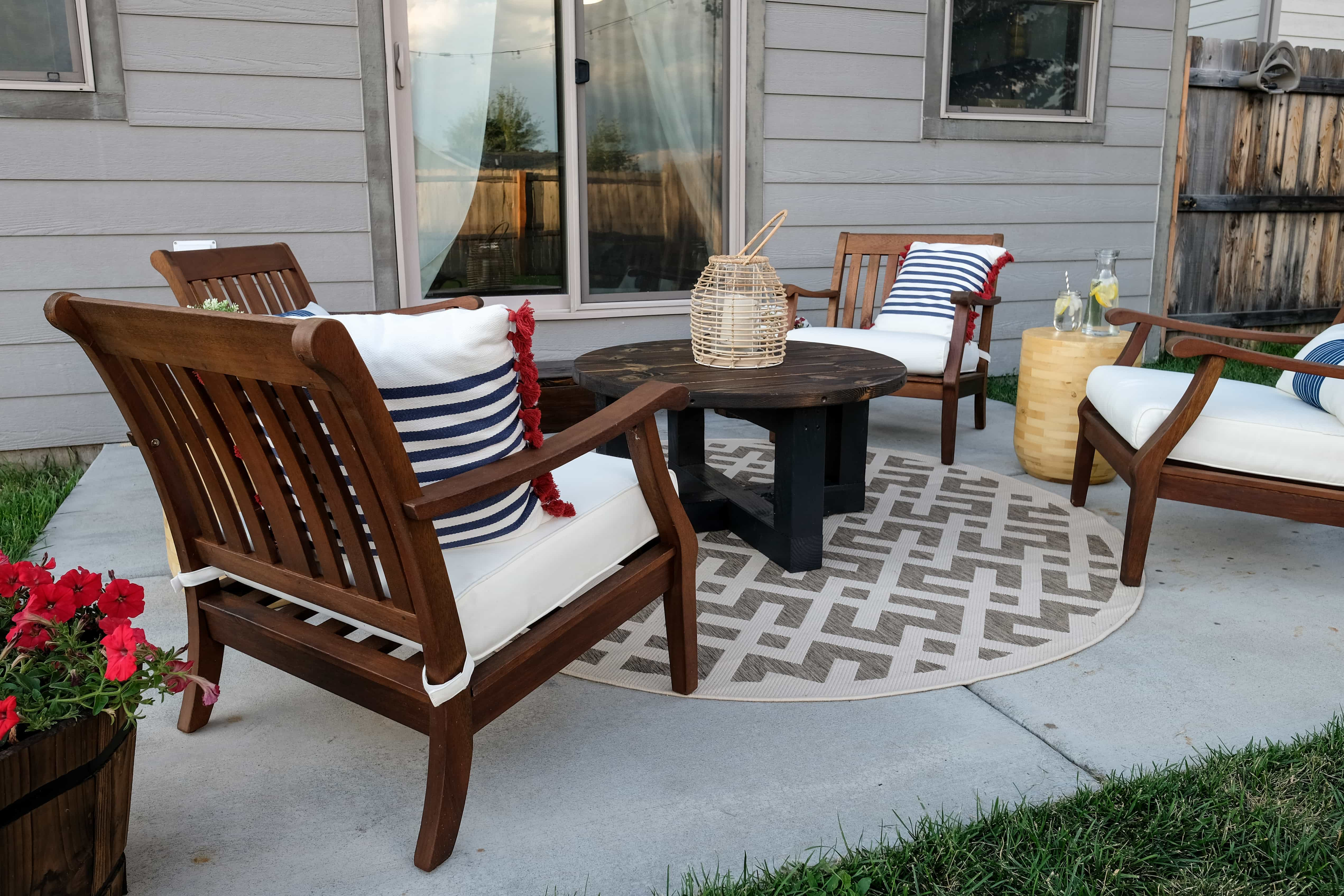 Small patio makeover on a budget joyfully growing for Small patios on a budget