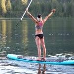 Paddle Boarding in Northwestern Montana