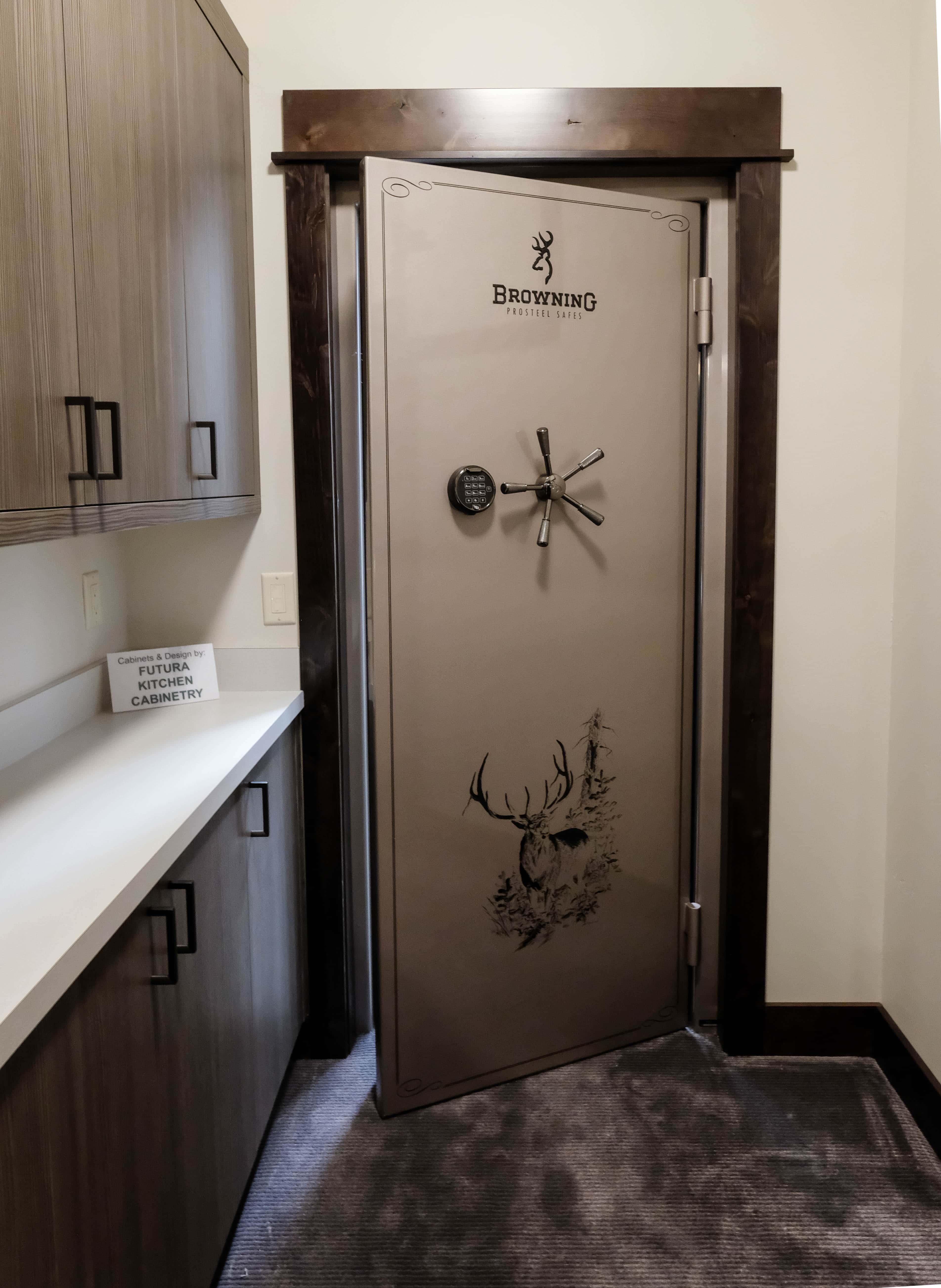 Mancave Ideas: Built-in Safe