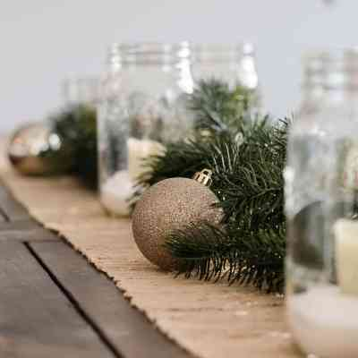 Simple Christmas Decor Ideas - Using Ornaments Beyond the Tree