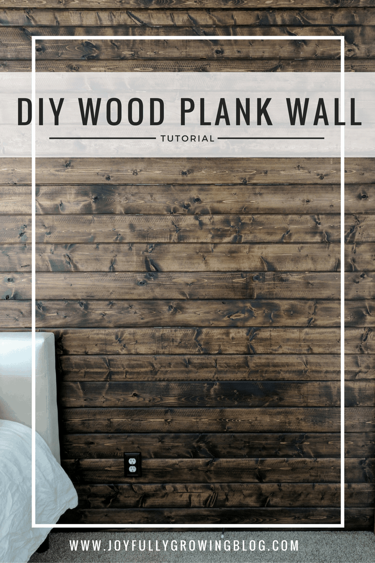 why your home needs a wood plank accent wall how to do it yourself. Black Bedroom Furniture Sets. Home Design Ideas