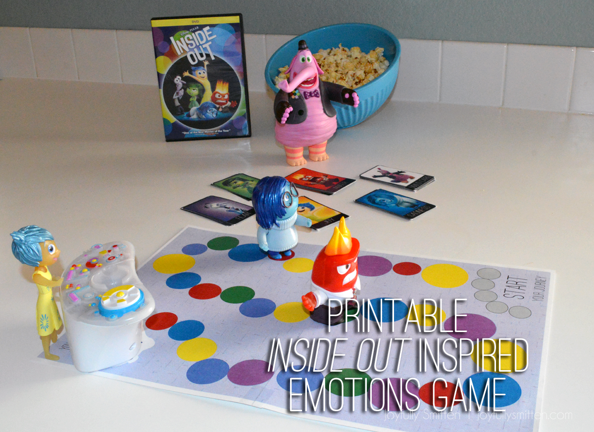 Inside Out Inspired Emotions Board Game