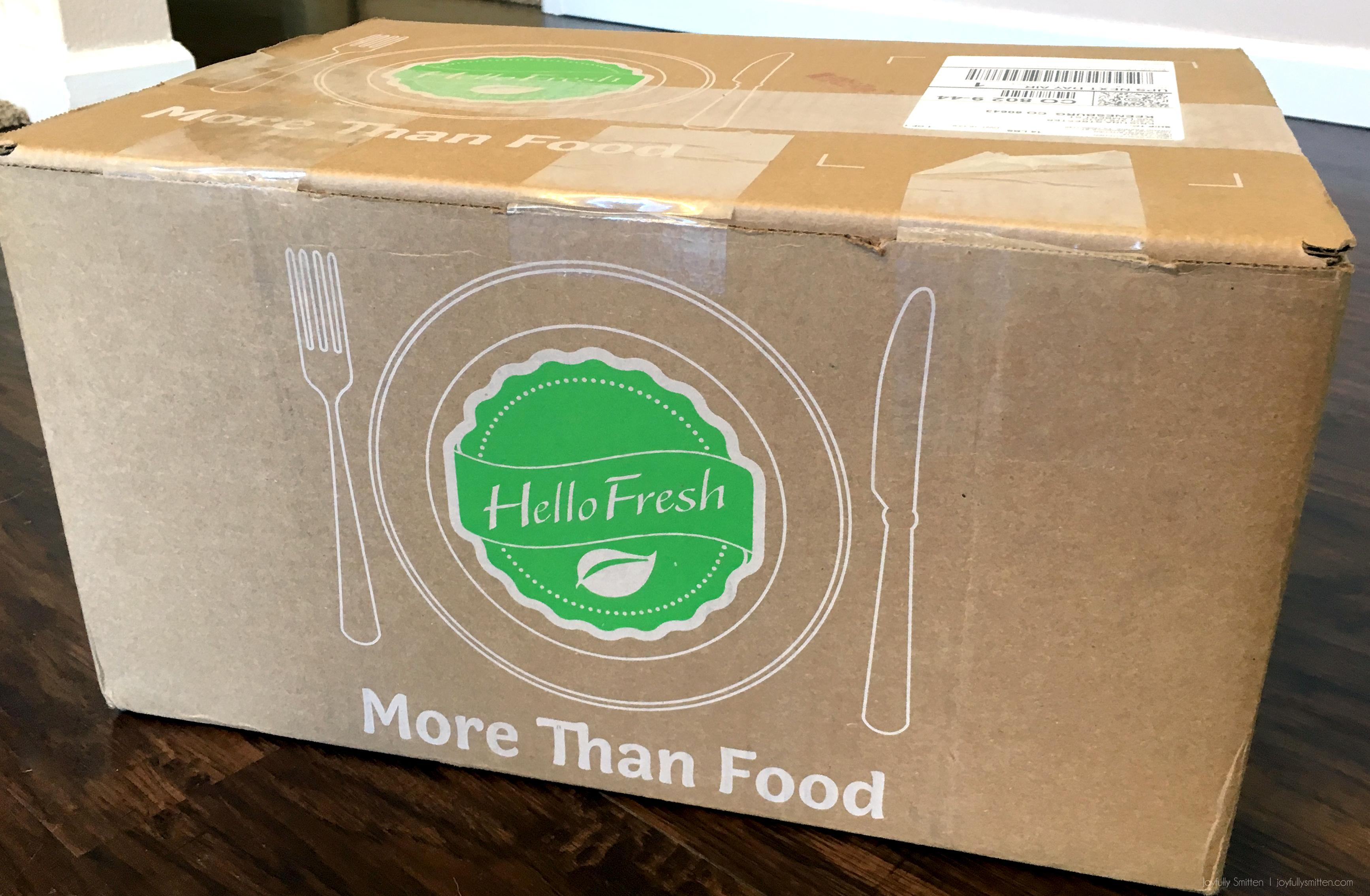 HelloFreshBoxDelivery