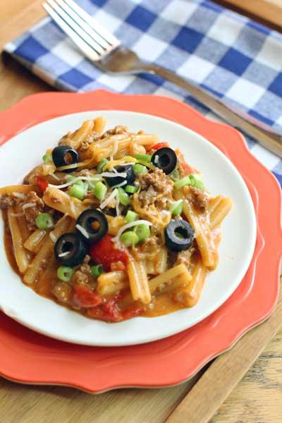 Cinco de Mayo Recipes: One Skillet Enchilada Casserole