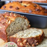 This Buttermilk Banana Bread is such a treat and since it makes 3 loaves, I like to put a different topping on each one. This is sure to become your new favorite quick bread recipe.