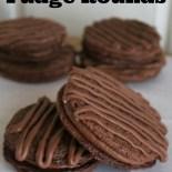 Homemade Fudge Rounds