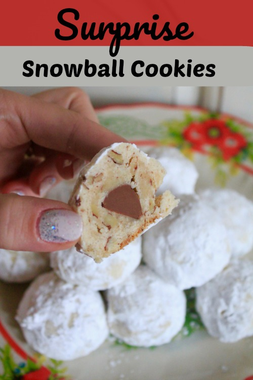 12 Days of Christmas Cookies: Surprise Snowball Cookies