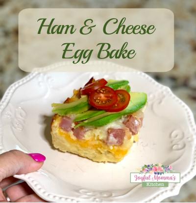 Ham and Cheese Egg Bake