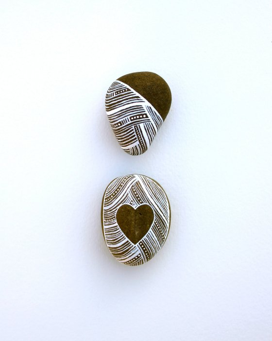 Handpainted Stones by Marisa Redondo